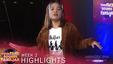 WEEK 2 Mentoring Session: Klarisse De Guzman's preparation as Shakira | YFSF 2021 Image Thumbnail