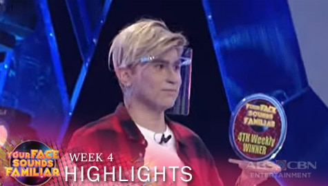 WEEK 4 Winner: CJ Navato as Justin Bieber
