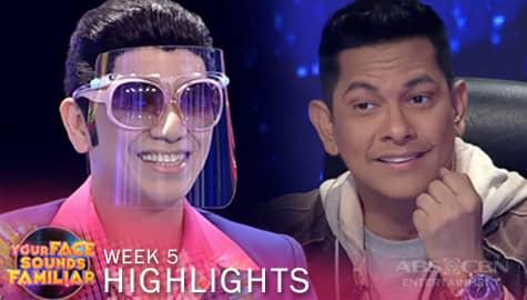 WEEK 5: Jury, natuwa sa performance ni Jhong as Vhong Navarro | YFSF 2021 Image Thumbnail