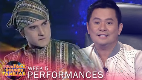 WEEK 5: Christian Bables rocks the stage with his legendary performance as Francis M | YFSF 2021 Image Thumbnail