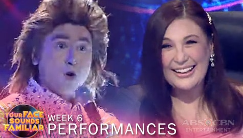 "WEEK 6: CJ Navato surprises Jury with his groovy performance of Barry Manilow's ""Copacabana"" 