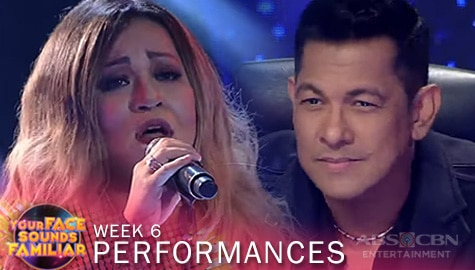 "WEEK 6: Klarisse De Guzman brilliantly impersonates Mariah Carey with her cover of ""Through The Rain"" 