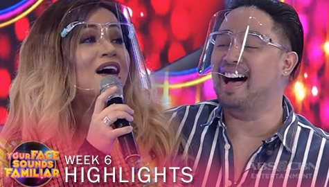 "WEEK 6: Klarisse at Jed, sumabak sa ""Twinkle Twinkle Little Star"" singing challenge 