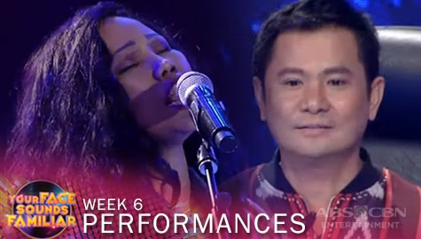"WEEK 6: Lie Reposposa impresses Jury with her sensational cover of Lolita Carbon's ""Usok"" 