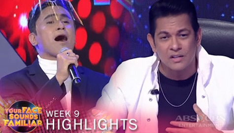 "WEEK 9: Gary V sings ""Ililigtas Ka Niya"" with CJ 