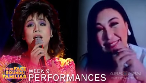 WEEK 9: Klarisse De Guzman owns the stage with her timeless performance as Sharon Cuneta | YFSF 2021 Image Thumbnail