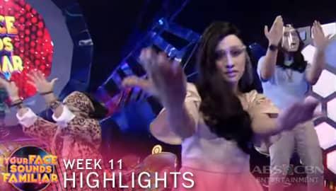 WEEK 11: Your Face Sounds Familiar Family, sumabak sa 'Feel Good Pilipinas' dance challenge | YFSF 2021 Image Thumbnail