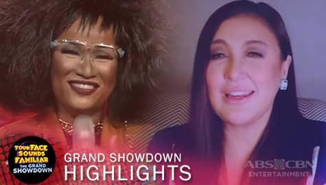 The Grand Showdown: Jury, pinuri ang performance ni Klarisse as Patti LaBelle | YFSF 2021 Image Thumbnail