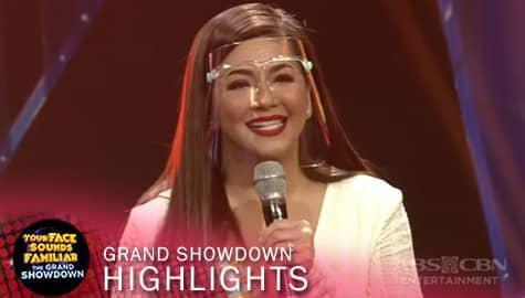The Grand Showdown: Regine, nakaramdam ng kaba sa kaniyang paglabas sa iconator | YFSF 2021 Image Thumbnail