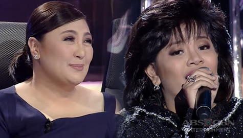 WATCH: Elha Nympha mesmerizes Jury with her moving performance as Sharon Cuneta | YFSF Kids