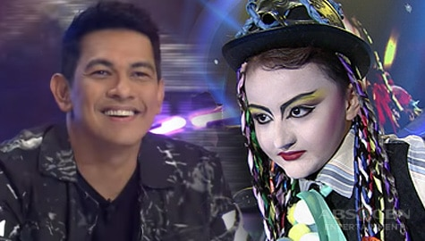 WATCH: Alonzo Muhlach wows everyone with his amazing performance as Boy George | YFSF Kids Image Thumbnail
