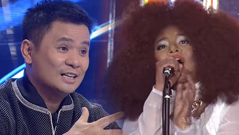 "WATCH: Elha Nympha stuns everyone with a powerful ""Through The Fire"" performance 