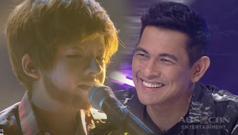 WATCH: Justin Alva charms everyone with his heartfelt performance as Ed Sheeran | YFSF Kids Image Thumbnail