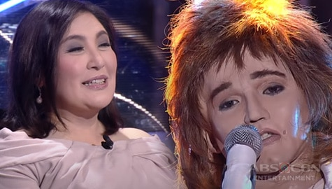 WATCH: Justin Alva charms everyone with his swag performance as Rod Stewart | YFSF Kids Image Thumbnail