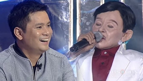 Awra Briguela impresses Jury with his iconic transformation as Dolphy