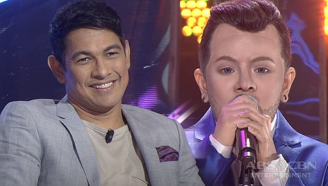 WATCH: Elha Nympha shocks everyone with her jaw-dropping transformation as Sam Smith | YFSF Kids Image Thumbnail