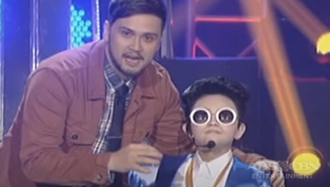 Your Face Sounds Familiar Kids: Alonzo Muhlach as Psy - Winner of Week 9 Image Thumbnail