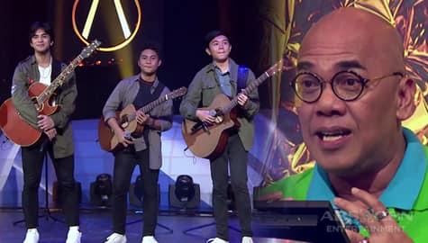 Your Moment Philippines 2019: Judges, humanga sa performance ng Acous3x  Image Thumbnail