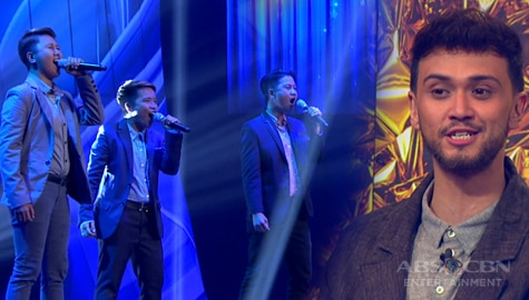 """First Moment: Lez 2 Men excites Judges with show-stopping """"One Night Only"""" performance 