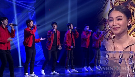 First Moment: Nitro performs a boyband version of Till My Heartache Ends | Your Moment 2019 Image Thumbnail