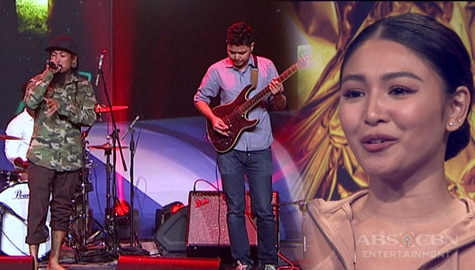 "First Moment: Juan Gapang rocks the stage with their performance of ""Banal Na Aso"" 