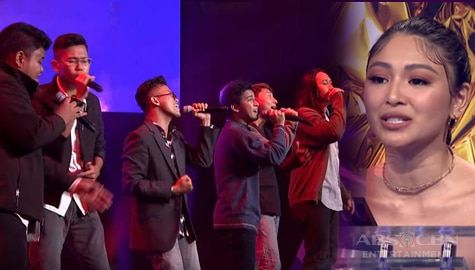 First Moment: Frequency fascinates judges with their acapella performance of