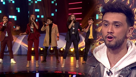 """Your Moment Wildcard Round: P-Square serenades judges with an acapella version of """"Dati"""" Image Thumbnail"""