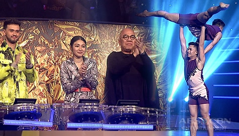 Your Moment Wildcard Round: X & Y's heartfelt interpretative dance receives a standing ovation from the judges  Image Thumbnail