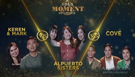 Your Moment of Choice: Keren & Mark, piniling makalaban sa 3-way battle ang Alpuerto Sisters at Cove Image Thumbnail