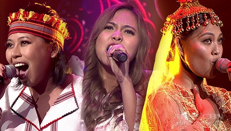 """Your Moment: Maka Girls confidently belts out their rendition of """"Tayo'y Mga Pinoy"""" 
