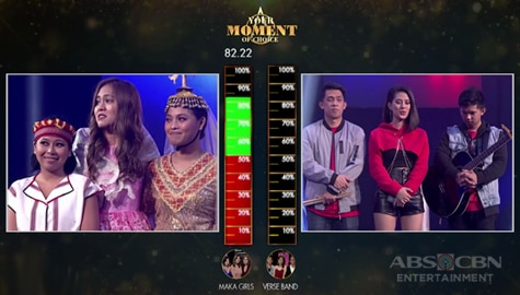 Your Moment: Verse Band, matagumpay na nakapasok sa next round! | Moment of Choice Image Thumbnail