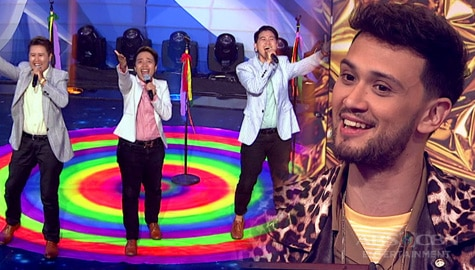 "Your Moment: Lez 2 Men, napahanga ang judges sa kanilang birit performance ng ""Dreamgirls"" 