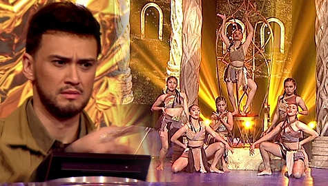 Your Moment: The Glamorous, napabilib ang hurado sa kanilang level up na gymnastics dance performance | Moment of Choice Image Thumbnail