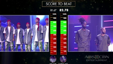 Your Moment: Sadeck & Kanon, na-beat ang score ng Off Limits at pasok na sa next round! | Moment of Choice Image Thumbnail