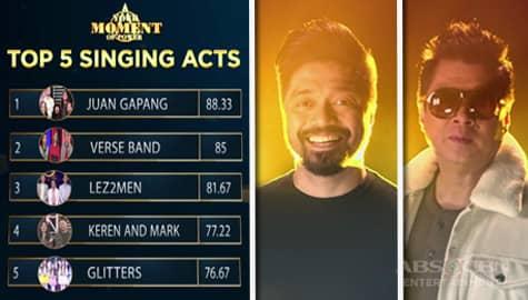 Your Moment: Top 5 Singing Acts, nakilala na ang kani-kanilang mentors para sa next round   Moment of Power Image Thumbnail