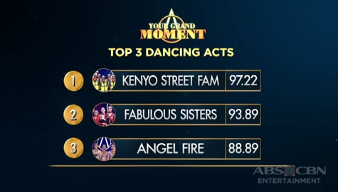 Your Moment: Kenyo Street Fam, Fabulous Sisters at Ruthless Comrades, top 3 dancing acts na aabante sa grand moment!