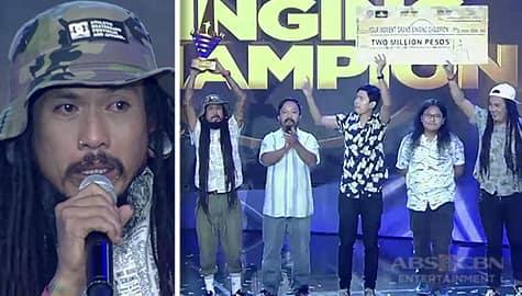 Juan Gapang, itinanghal na kauna-unahang Grand Singing Champion! Thumbnail