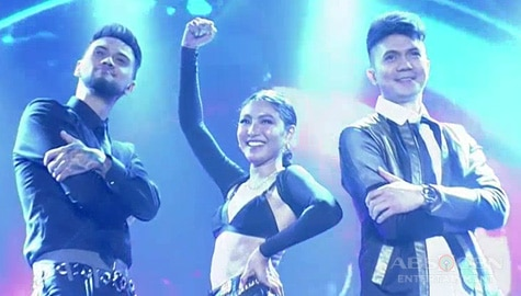MUST-WATCH: Nadine Lustre, Vhong Navarro & Billy Crawford's ultimate collab with the Top 4 acts on Your Moment stage! Image Thumbnail